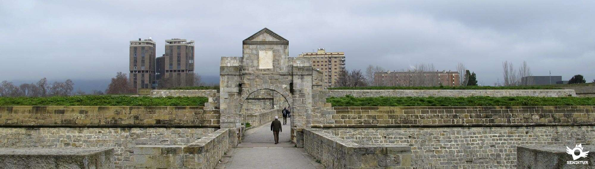 Pamplona City Walls Route