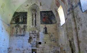 Romanesque paintings of the church of Ribera