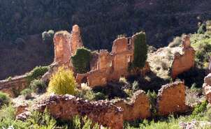 Ruins of the monastery of San Prudencio