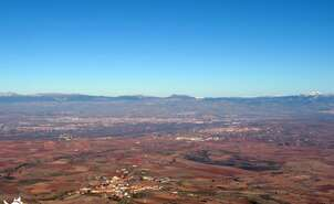 Valley of the Iregua and the Ebro