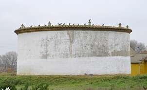Typical pigeon lofts of Tierra de Campos