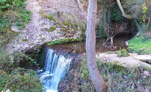 03- A waterfall on the route
