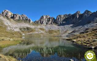 Pyrenean lake of Acherito