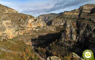 Viewpoint of Leza River Canyon