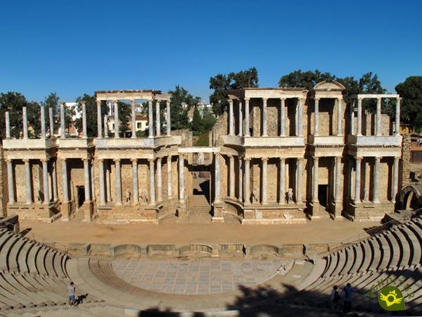 Boda Teatro Romano Merida : Teatro y anfiteatro romano de mérida badajoz senditur