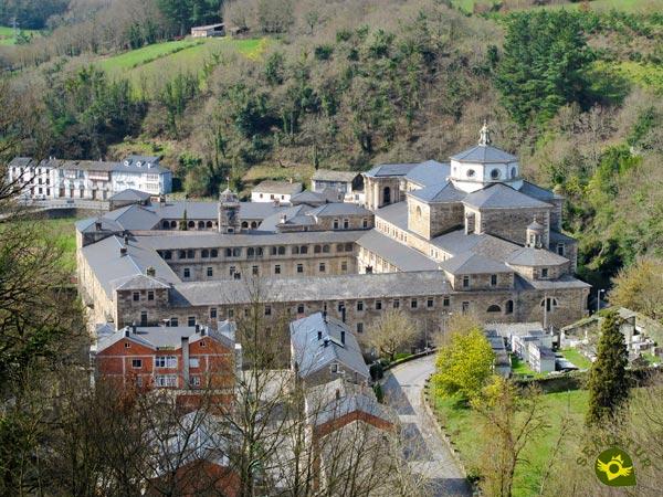 Abbey Of Samos Lugo French Way Senditur Com Way Of Saint James