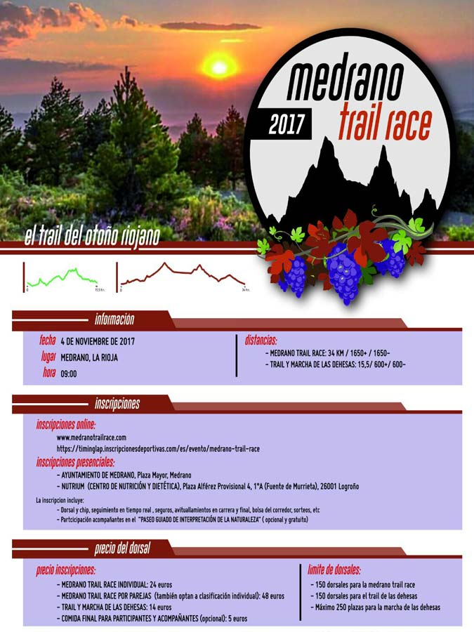 Medrano Trail Race 2.017