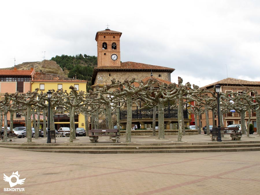 Main Square of Belorado