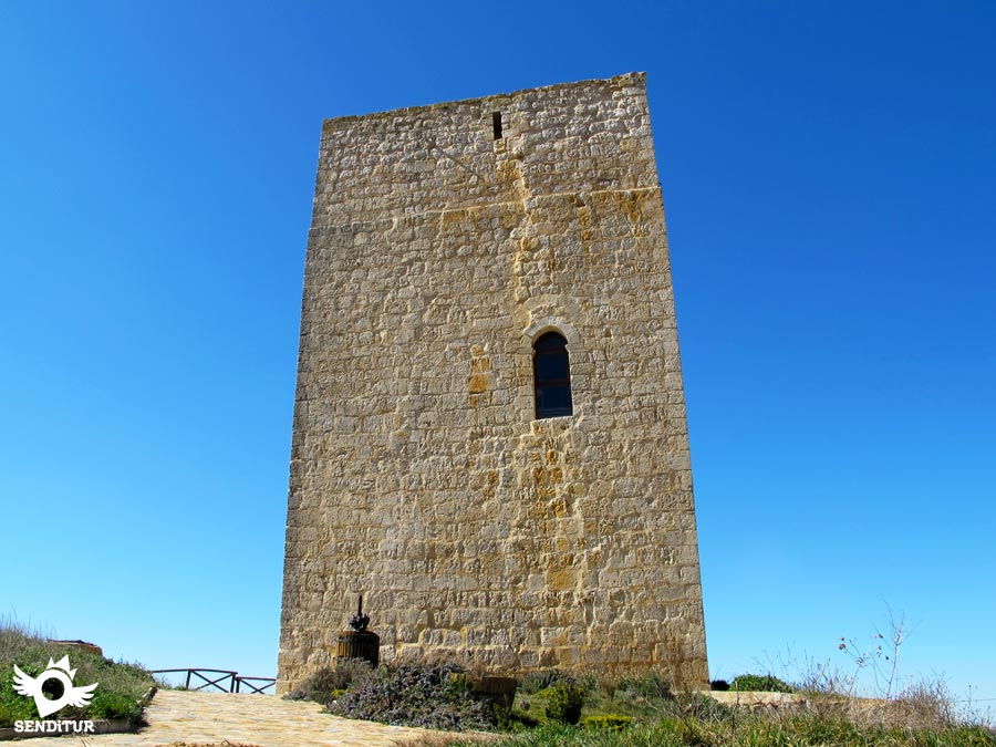 Homage Tower in Itero del Castillo