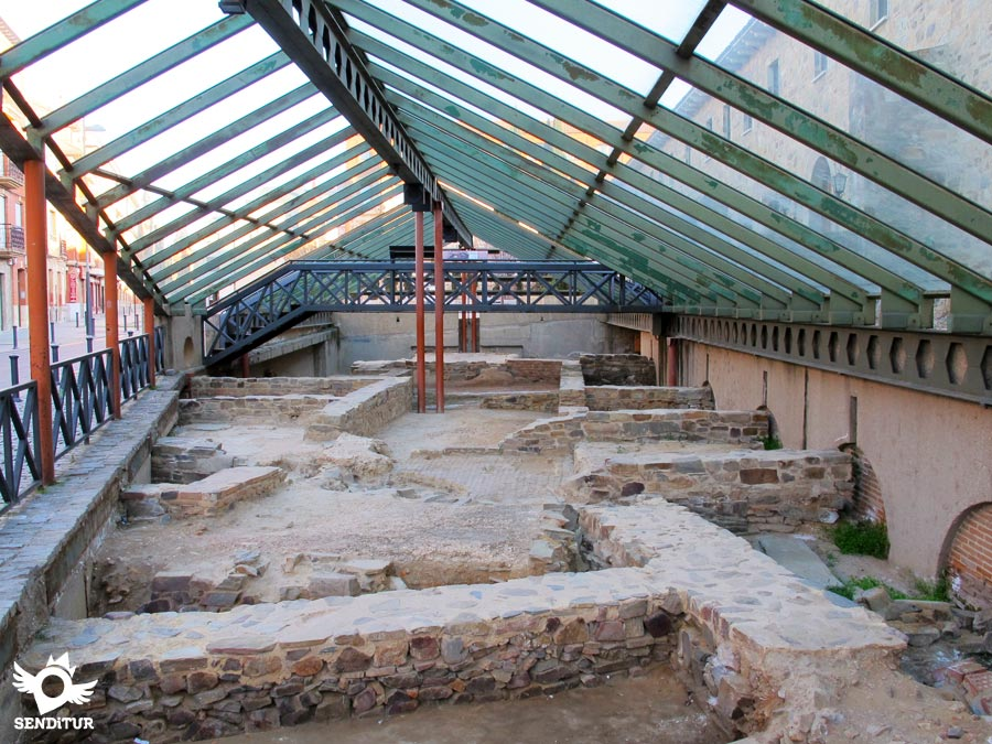 Roman archaeological site in Astorga