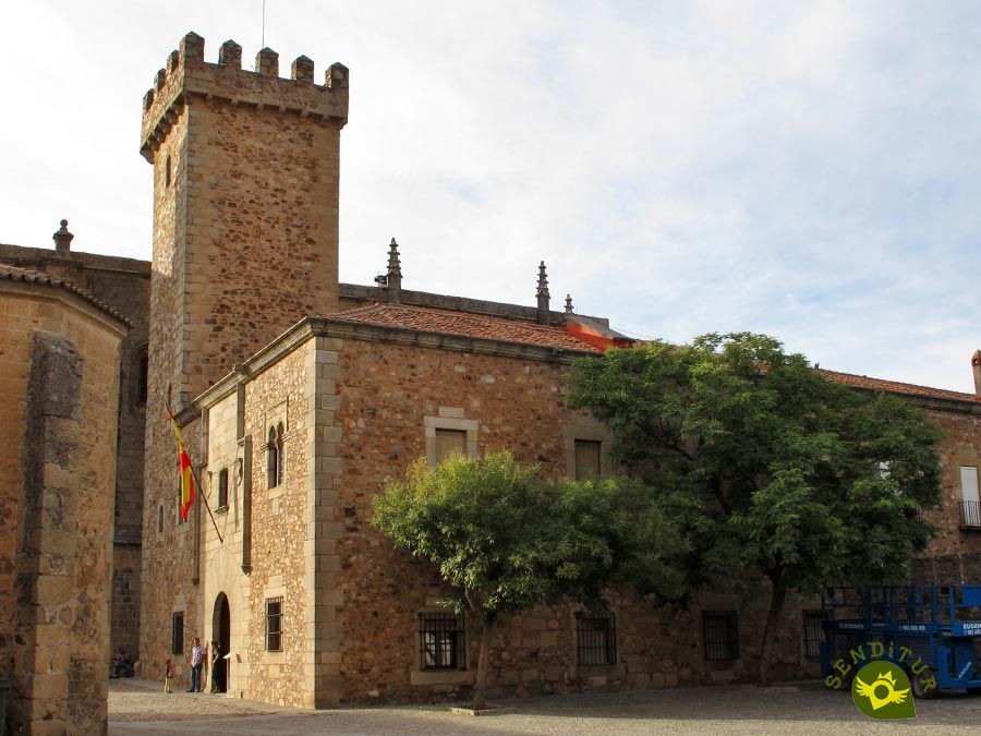 Palace of the Storks in Cáceres