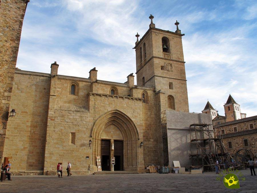 Concathedral of Santa María in Cáceres