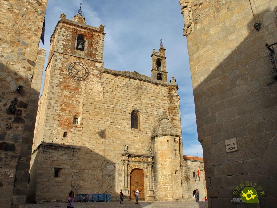 Church of San Mateo in Cáceres