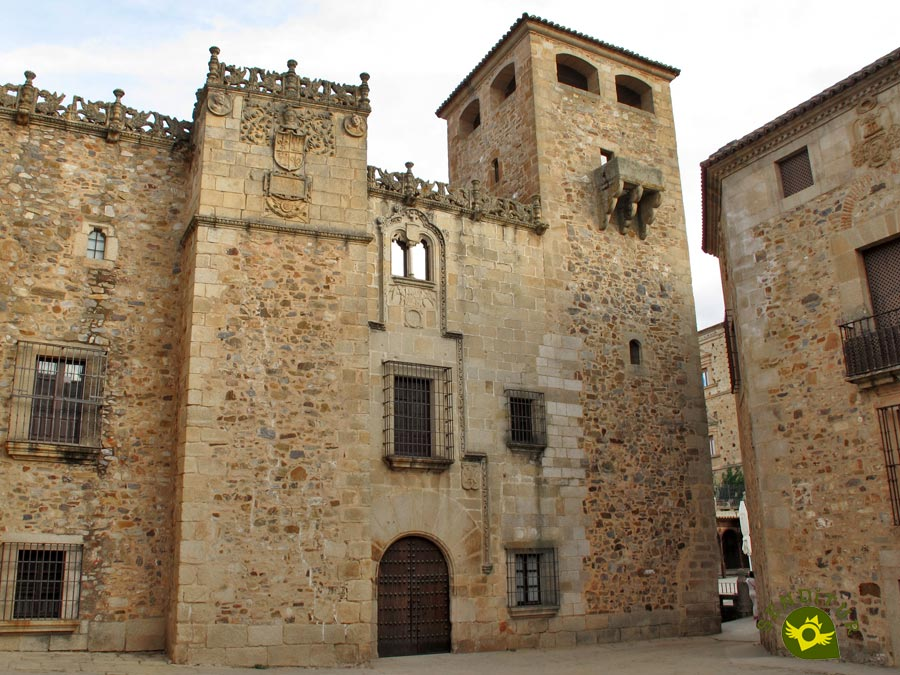 Palace of the Golfines de Abajo in Cáceres