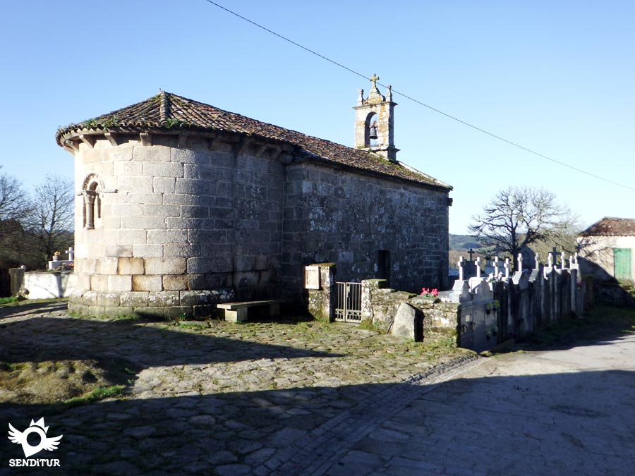 church of San Julián in San Xiao do Camiño