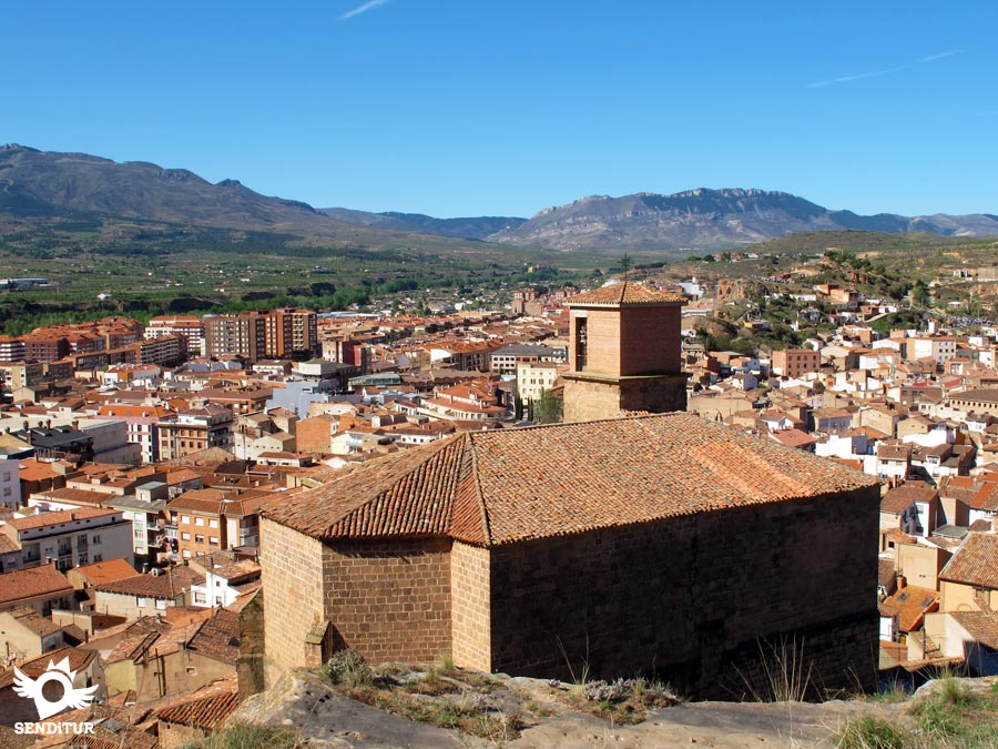 Panoramic view from the castle in Arnedo