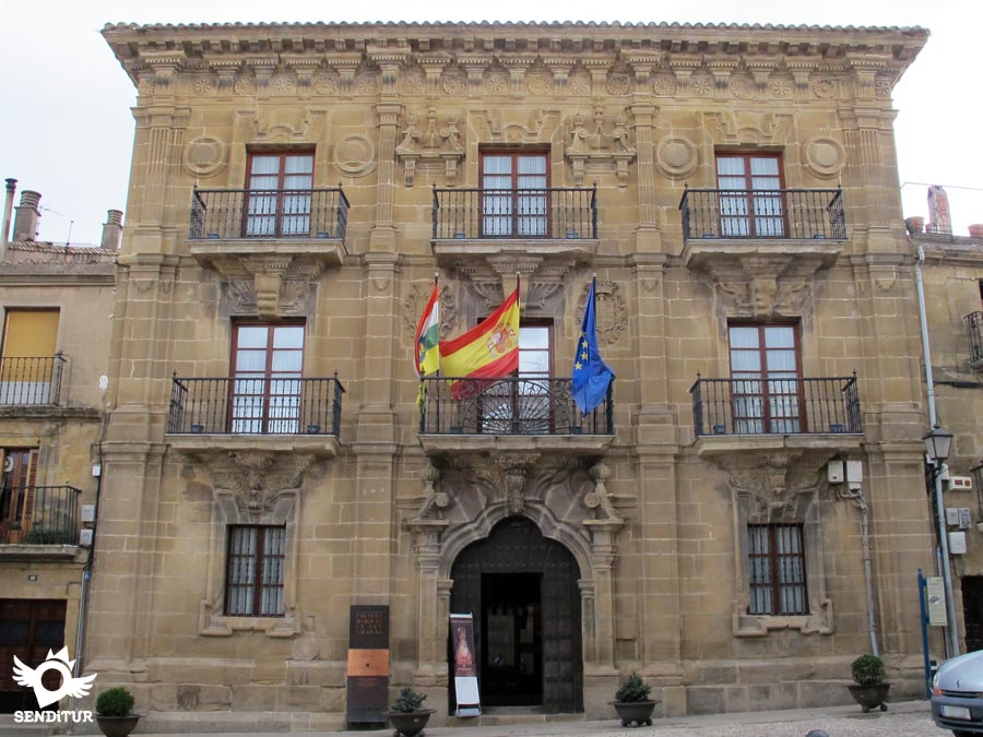 Palace of the Marquises of San Nicolás in Briones