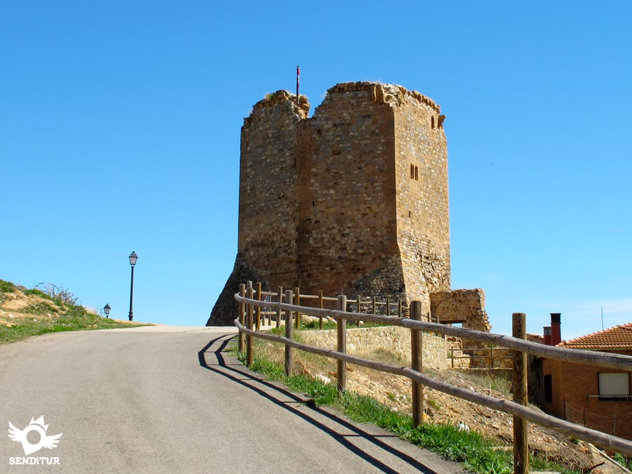 Tower of the castle of Préjano