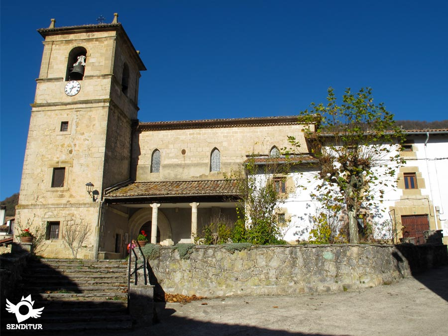 Parish Church of San Juan Bautista in Baquedano