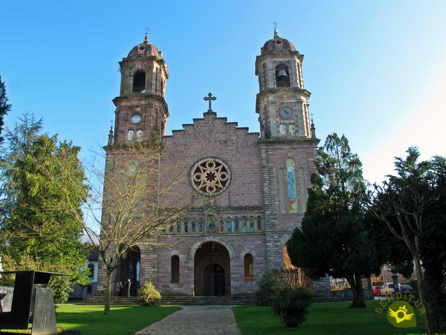 Church of Santiago, Elizondo