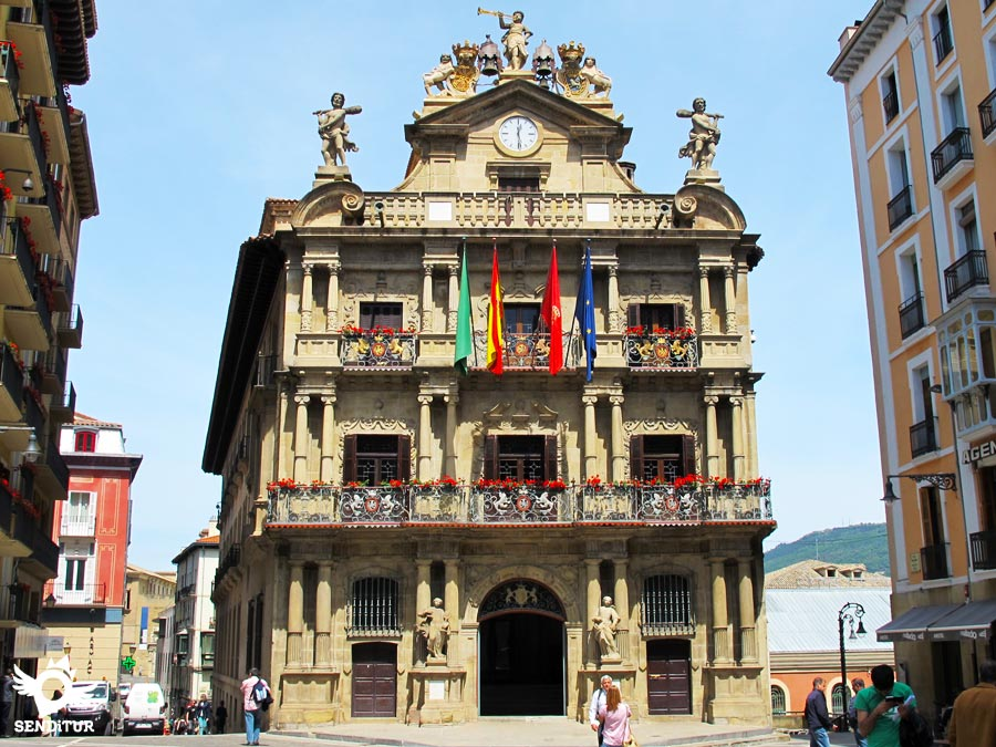 Town Hall of Pamplona-Iruña