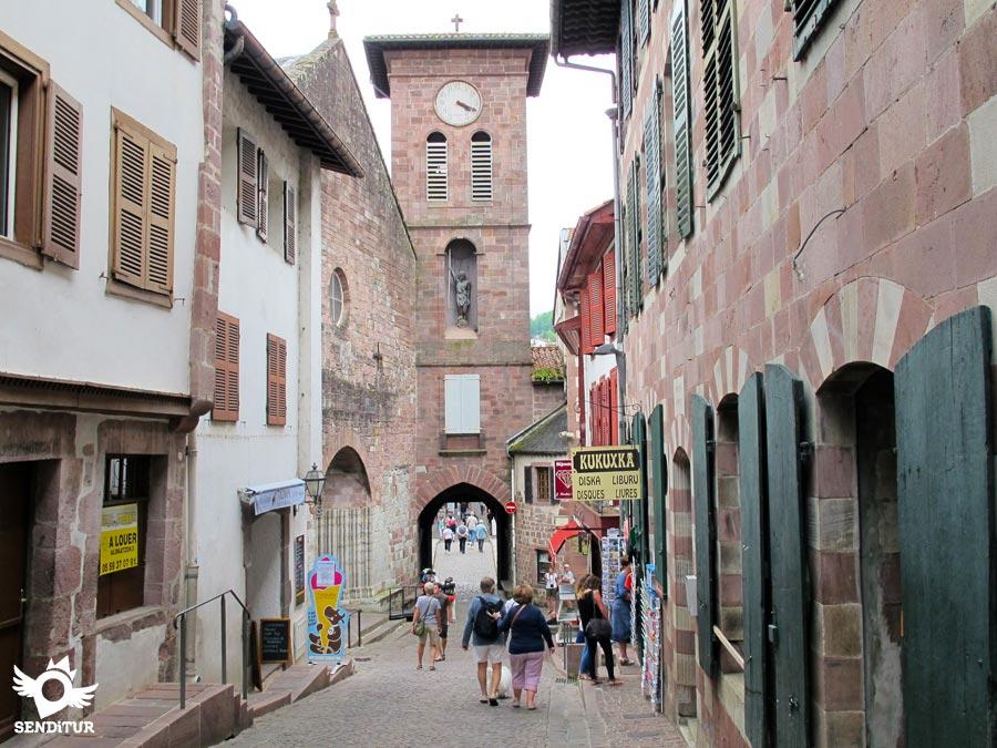 Saint jean pied de port pyr n es atlantiques aquitanie - Hotel des pyrenees saint jean pied de port ...