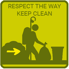 Respect the Way Keep it clean