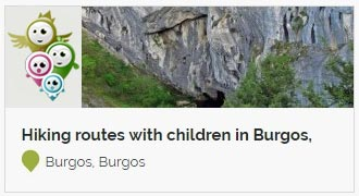 Go to Hiking routes with children in Burgos, hiking with the family