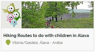 Go to 8 Hiking Routes to do with children in Alava