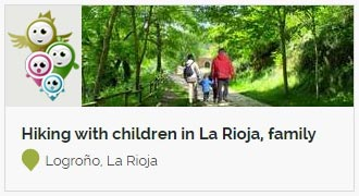 Go to Hiking with children in La Rioja, family hiking routes