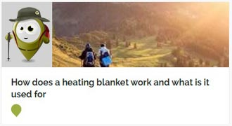 Go to How does a heating blanket work and what is it used for