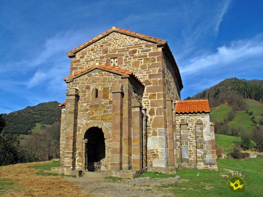 Iglesia De Santa Cristina De Lena Asturias Senditur Com Senderos