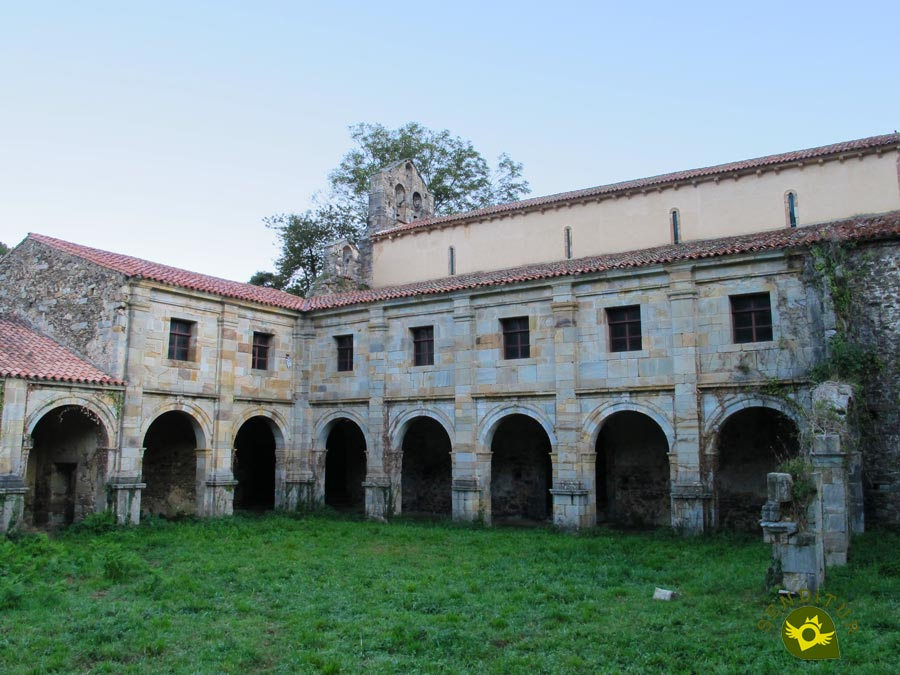 Unfinished cloister of the Monastery of Santa María la Real of Obona