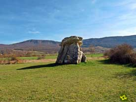 Go to Dolmen of Sorginetxe and Dolmen of Aizkomendi