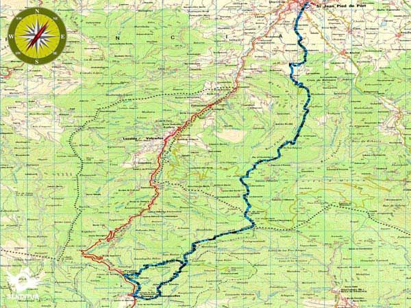 Stage 1 Saint Jean Pied De Port Roncesvalles French Way