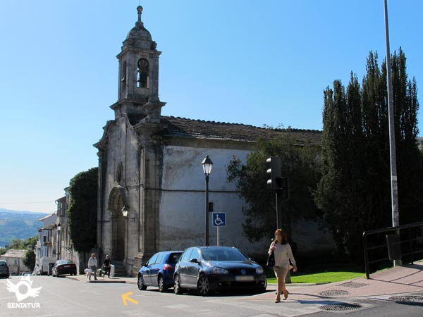 We passed by the church of Carmen