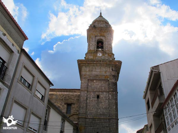Tower of the church of San Pedro of Melide