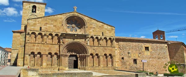 Church of Santo Domingo in Soria