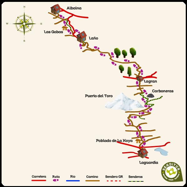 Resultado de imagen de Ruta del Vino y del Pescado (GR-38) laguardia