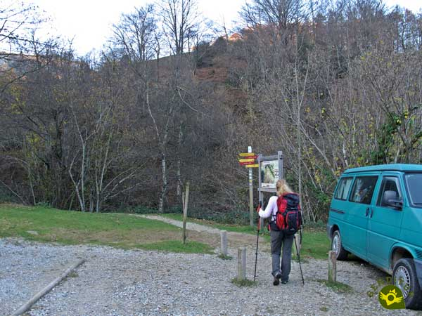 We start the route to Mount Aratz by the San Adrián Tunnel