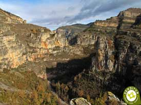 Go to Viewpoint of the Leza River Canyon